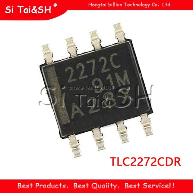 10PCS TLC2272CDR SOP8 TLC2272 SOP 2272C SOP 8 SMD new and original IC