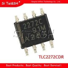 10PCS TLC2272CDR SOP8 TLC2272 SOP 2272C SOP 8 SMD nuovo e originale IC