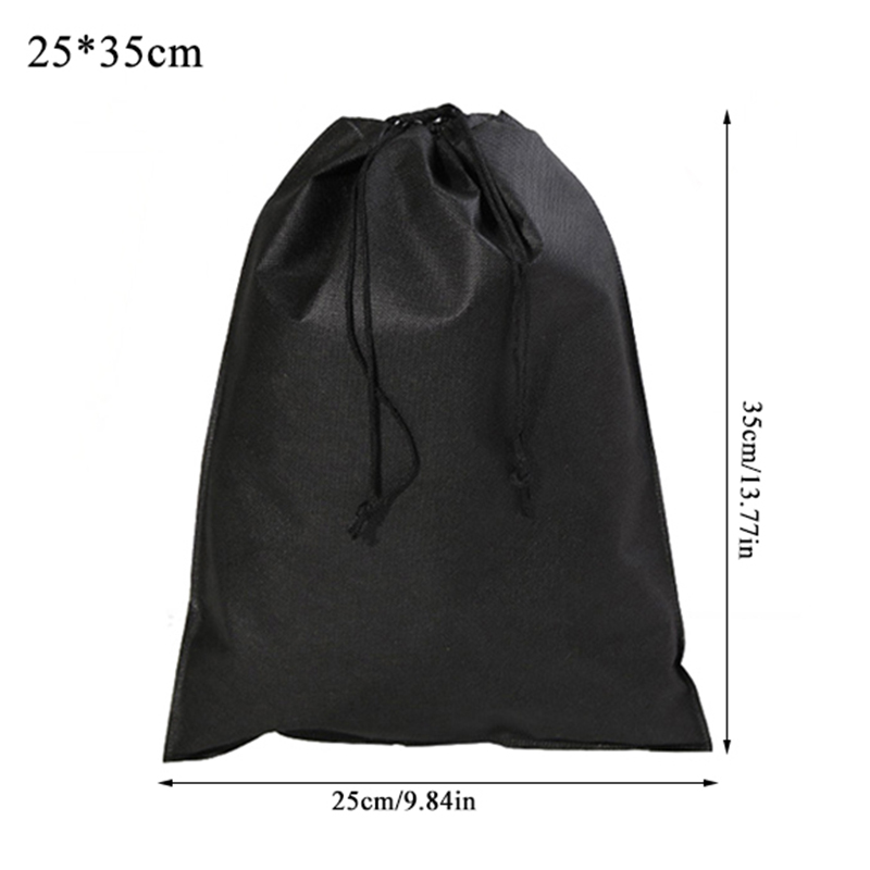 Useful Portable Storage Pouch Drawstring Shoes Bag Protector Container