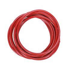 O-ring seal, oil seal, silicone, 50 x 2.5 mm, brick red, 10 pieces(China)