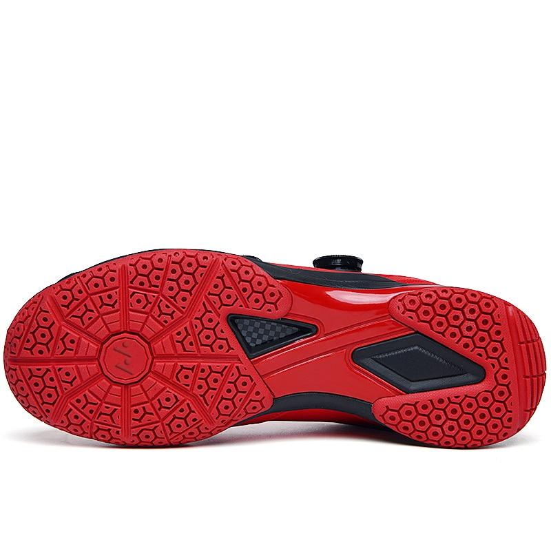 2020 новый бренд с длинным рукавом мужская Профессиональные красная обувь для бадминтона на открытом воздухе Нескользящие Badminto работает кроссовки светильник спортивные Baminton обувь-1