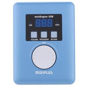 Image 1 - Midiplus MiniEngine USB MIDI Modulo Sonoro Generale MIDI Generatore di 128 standard GM toni 48kHz frequenza di campionamento