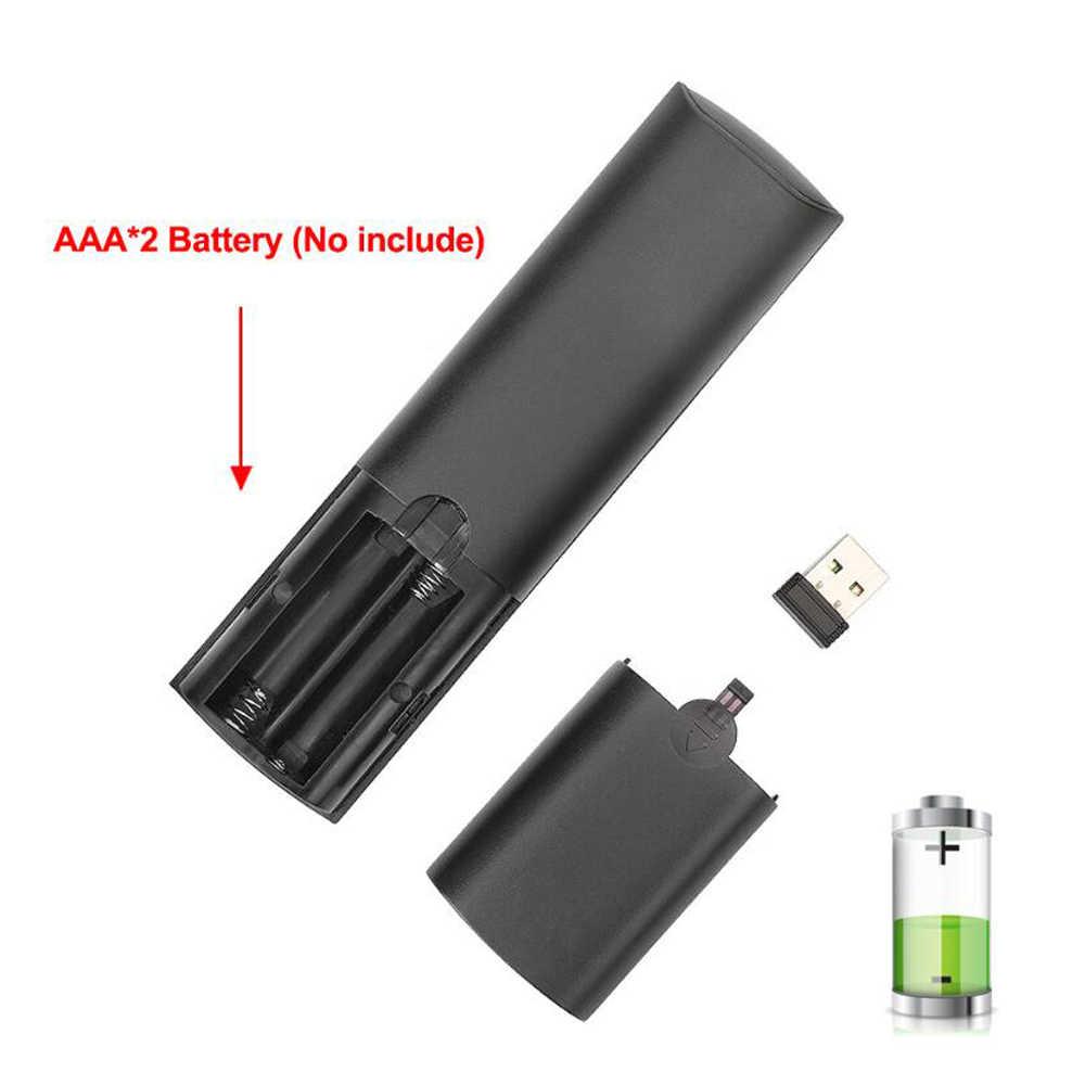 Controllo vocale Wireless Air Mouse Remote Control 2.4G Giroscopio di Apprendimento A Infrarossi Microfono Per Android TV Box H96 MAX A95X r3 HK1MAX