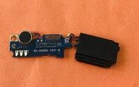 Usado microfone original mic pequena placa para doogee x60l mtk6737 quad core frete grátis