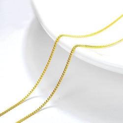 MxGxFam-colliers avec chaîne 18 pouces (45 cm x 1mm) pour hommes et femmes, bijoux à la mode 24 k, pendentifs assortis