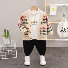 Комплект одежды для маленьких мальчиков и девочек осенне зимние