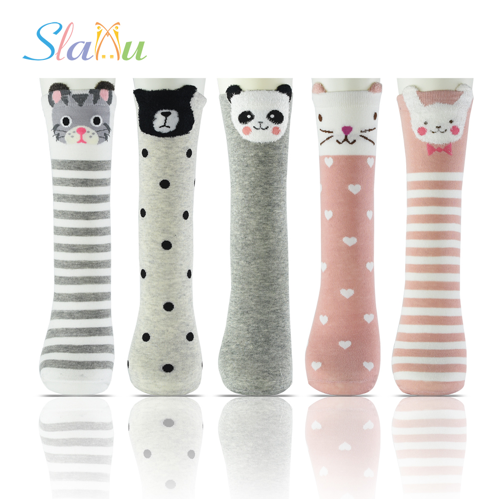 Cartoon Cute Kids Stocking Tights Cottons Creative Baby Stocking Children Stockings Toddler Girls Pantyhose For 2-12Y