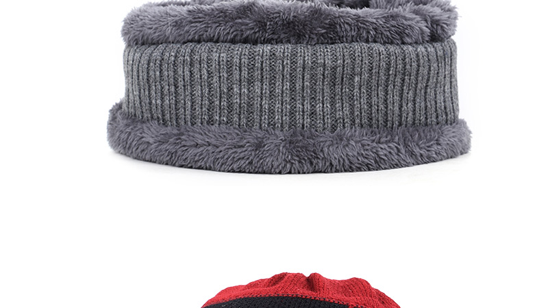 Новая мужская зимняя шапка, шарф с бархатными буквами, полосатая хлопковая шапка, нагрудник, 2 комплекта для мужчин и женщин, открытый теплый костюм, повседневный горошек