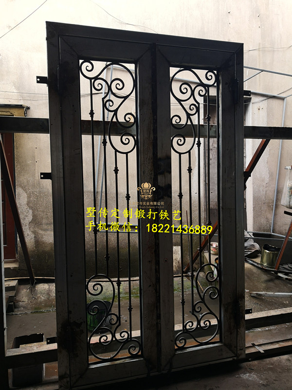 Shanghai Hench Brand China Factory 100% Custom Made Sale Australia Iron Steel Doors