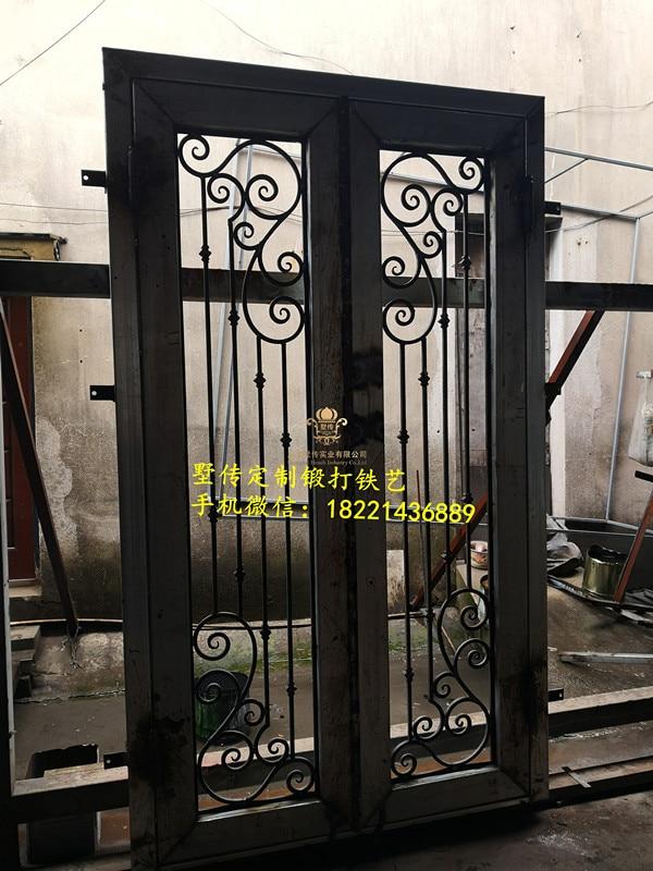 Shanghai Hench Brand China Factory 100% Custom Made Sale Australia Iron Steel Doors