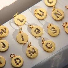 Ожерелье с именем на заказ Женские Подвески 26 буквами для ювелирных