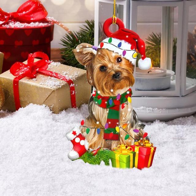 Dog Decoration Christmas Tree  6