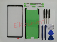 Ekvinor Glas Lens Touch Screen Vervanging Voor Samsung Galaxy Note9 Note 9 N960 N960F Voor Glas Reparatie + Lijm + gereedschap