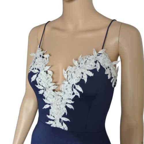 Hot Sexy Frauen Dünne Spitze Verband Bodycon Party Kleid Damen Bleistift Straps V-ausschnitt Kleid Sexy Formale Kleider Vestidos