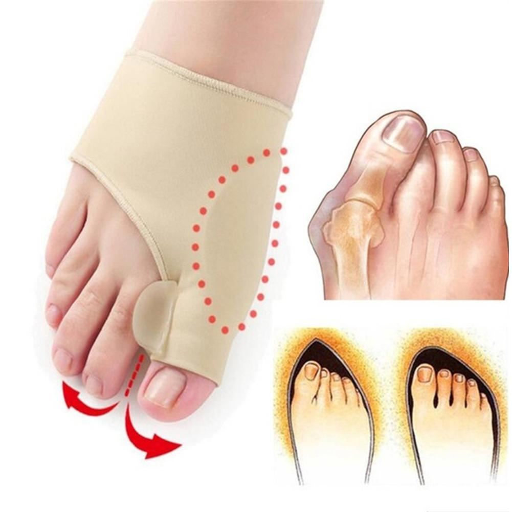 Foot Care Bunion Corrector Toe Separator Adjuster Strap Straightener Pain Relief Foot Care Pedicure From The Bone On The Big Toe
