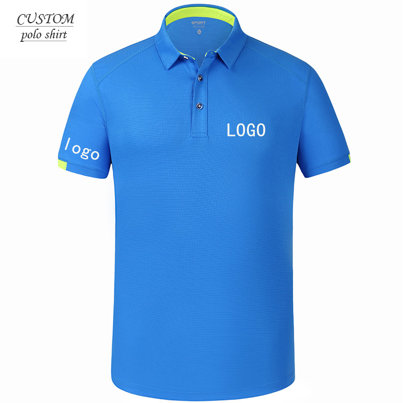 Custom Embroidery Design Your Own Polo