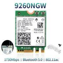 Draadloze 2030Mbps 2.4G/5Ghz M.2 Netwerk Wifi Kaart Voor Intel 9260 Ac 9260NGW 802.11ac Bluetooth 5.0 laptop Deskktop Windows 10