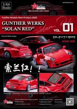 Fuelme 1:64 Gunther Werks 993 Resin Model Auto