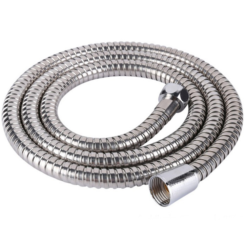 Shower Hose Pipes Bathroom Accessories For Bath Stainless Steel Head 2m Shower Hoses Heat Cold Water Pipe