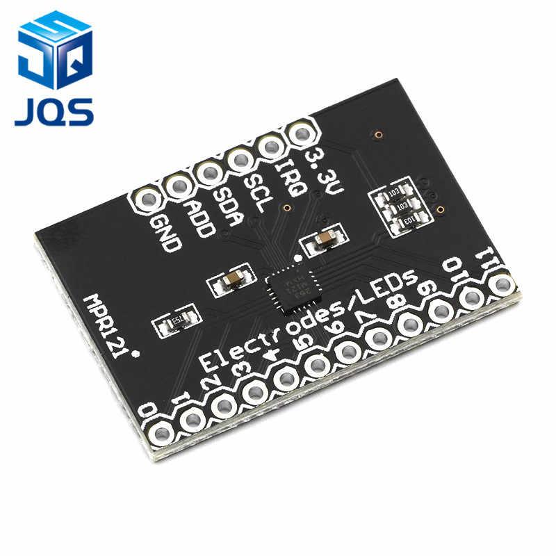 MPR121 Breakout V12 pojemnościowy czujnik dotykowy moduł kontrolera I2C płytka rozwojowa klawiatury