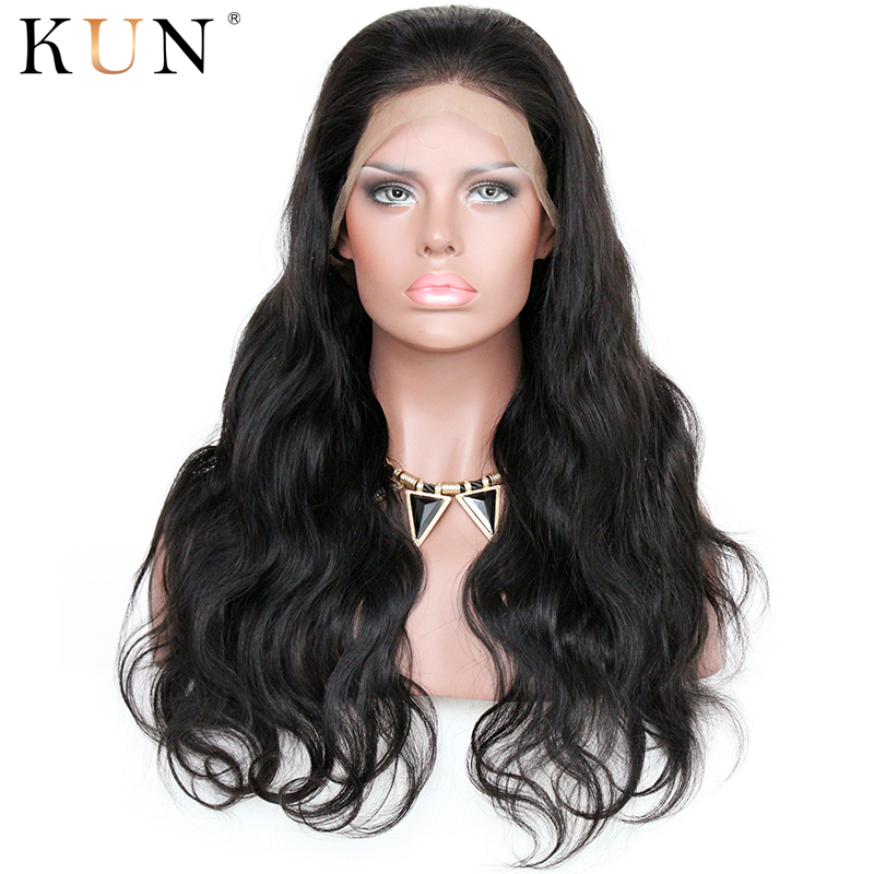 Lace Front Human Hair Wigs Body Wave Human Hair Wigs Brazilian Remy Pre Plucked 13*4 13*6 Lace Front Wig High-end Hair Industry