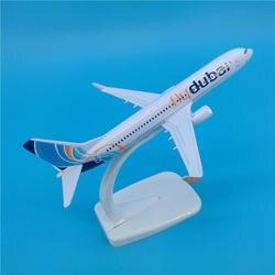 16 см 1/400 весы Boeing B737-800 FLY Дубай авиалиний масштаб игрушечные модели самолетов самолет литой под давлением пластиковый сплав самолет Подарки