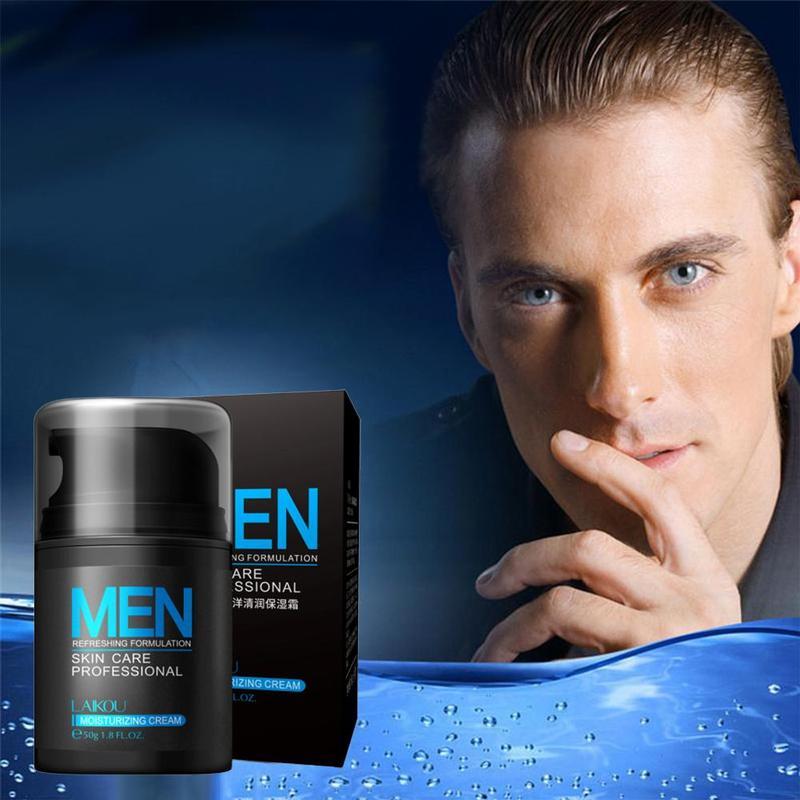 Hyaluronic Acid Face Cream Oil-control Men Lift Anti-Wrinkle Firming Shrink Pores Acne Day Cream Moisturizing Whitening