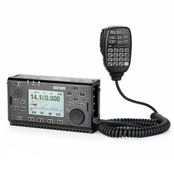 Xiegu X5105 versión exterior 0,5-30MHz 50-54MHz 5W 3800mAh HF transceptor con salida IF todas las bandas que cubren SSB CW AM FM RTTY PSK