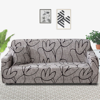Stretch Sofa Cover Slipcovers Elastic All-inclusive Couch Case for Different Shape Loveseat Chair L-Style - discount item  47% OFF Home Textile