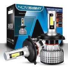 NOVSIGHT Super Bright Car LED Headlight Bulbs for Cars 9006 HB4 72W 10000LM White lamp 6500K light bulbs auto car 12V