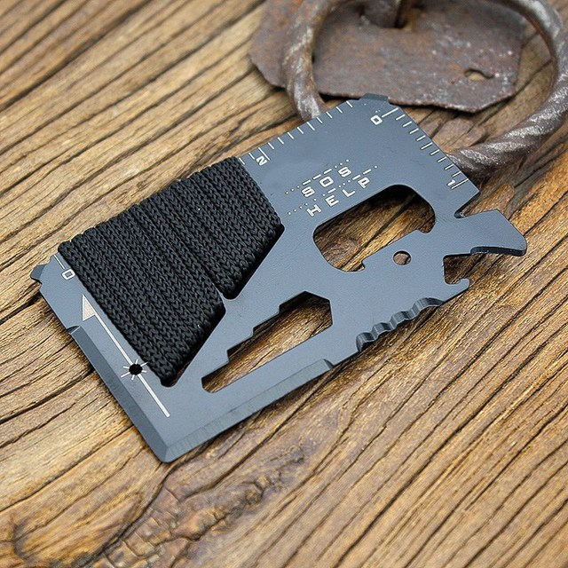 Multifunctional Tactical Credit Card Knife 4