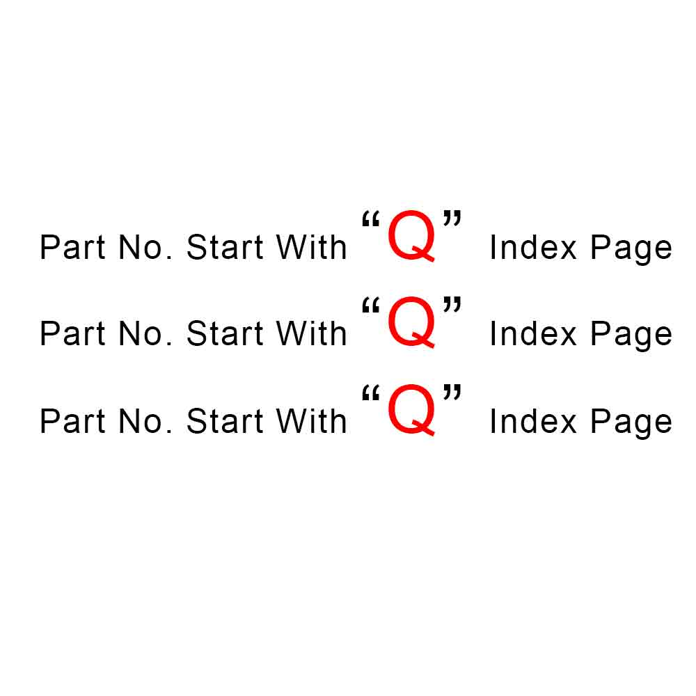 Start With Q Index Page