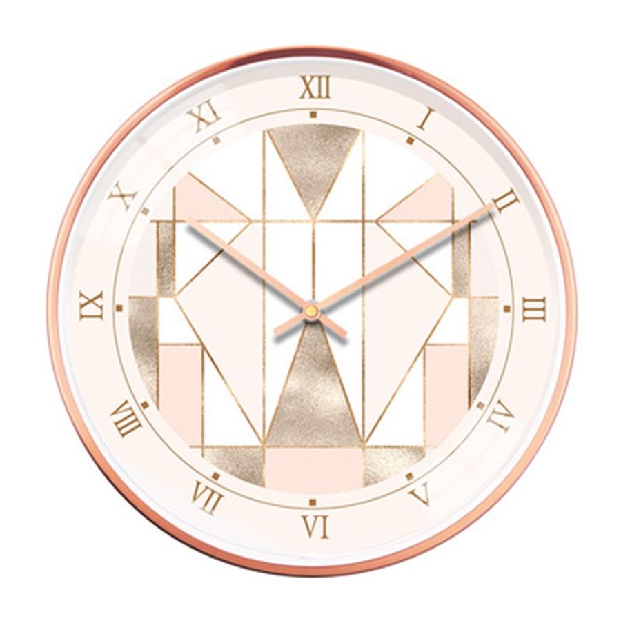 Vintage Clock Modern Design Wall Watches Home Decor Luxury Clock Mechanism Living Room Zegar Scienny Klok Diy Creative Kit EE50