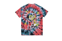 Travis Scott Astroworld Lollapalooza EUROPE tour Skull Print Tie dye T shirts tees Hiphop Streetwear Cotton Summer T shirt