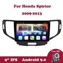 Android 9.0 Car DVD Radio For Honda Spirior 2009 2010 2011 2012 2013 GPS Navigation Screen Radio Audio Multimedia Player Canbus