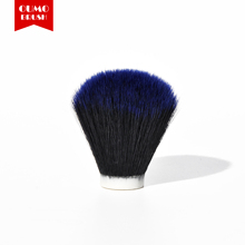 OUMO BRUSH-Tuexdo blue tip synthetic hair knots shaving brush knots