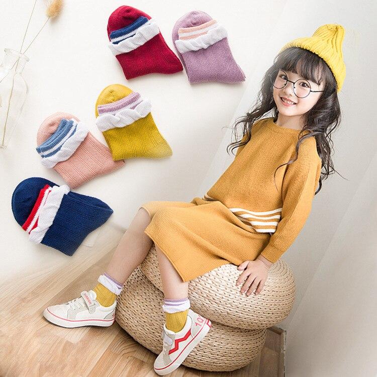 Autumn And Winter Children's Socks New Products Children Versatile Socks Korean-style BOY'S Girls Tube Socks CHILDREN'S Baby Soc