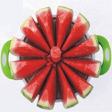 Creative Watermelon Slicer Kitchen Practical Tools Melon Cutter Knife 410 Stainless Steel Fruit Cutting Slicer stainless steel watermelon slicer knife fruit cuter