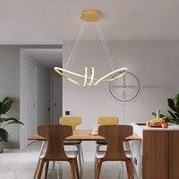 Cromo banhado a ouro pendurado pingente luzes para sala de jantar cozinha sala casa deco luminária pingente frete grátis|Luzes de pendentes| |  -
