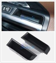 Caja de almacenamiento de apoyabrazos de puerta para Mercedes Benz GLB GlA GLA200, GLB200, GLB180, 2020, 2021, bandeja organizadora de coche, accesorios