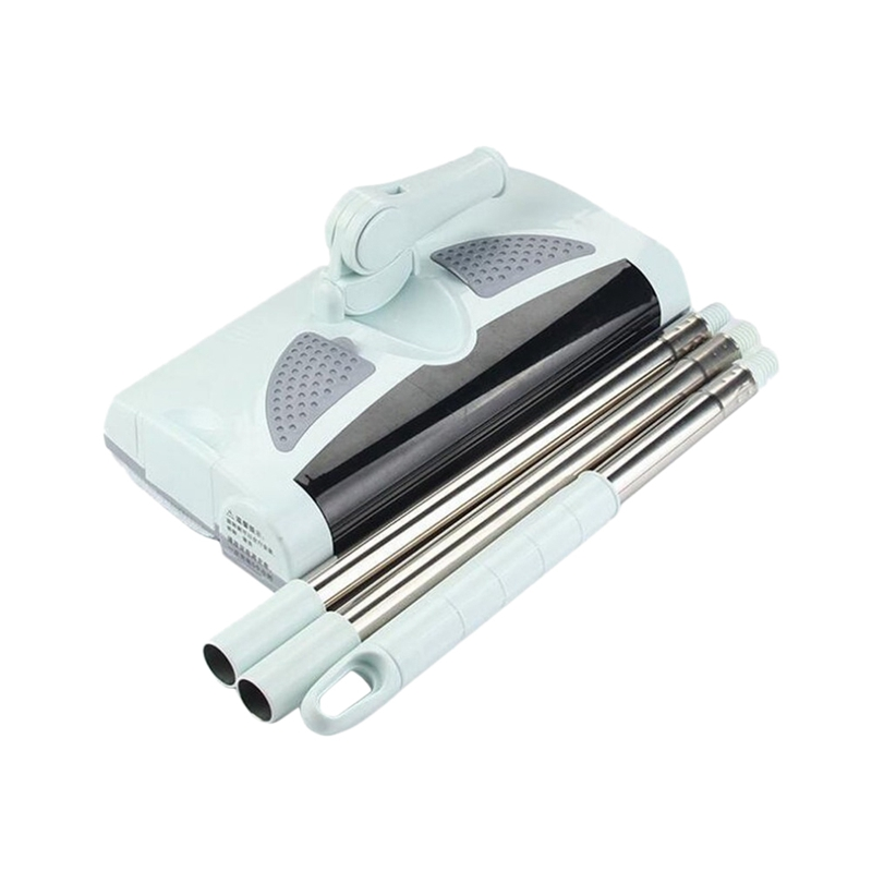 Eu Plug Low Noise Automatic Electric Sweeping Machine Wireless Hand Push Dustpan Vacuum Cleaner Machine Household|Electric Floor Mops| |  - title=