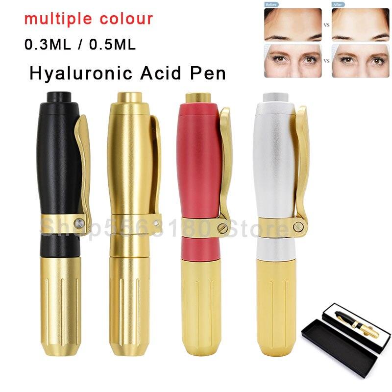 Hyaluron injeção caneta dor-livre anti-rugas beleza máquina hialurônico ácido caneta soro atomizador lábios levantamento sem agulha