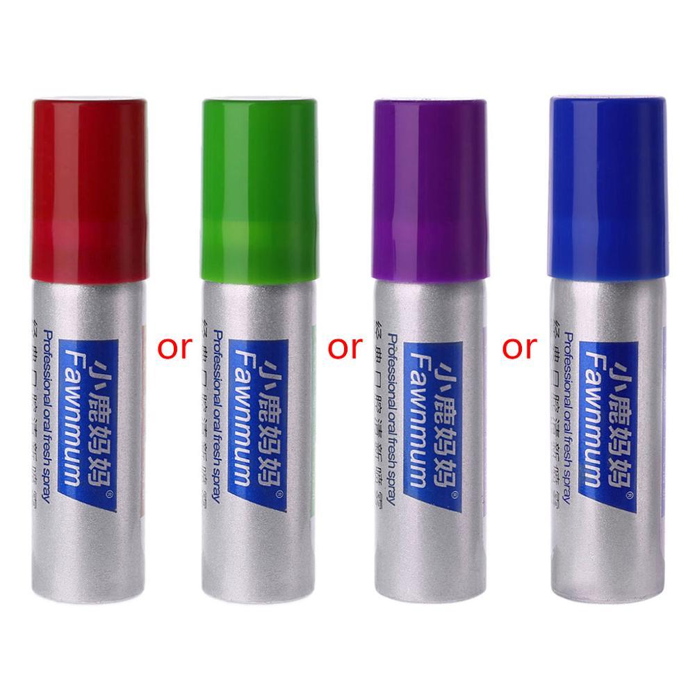 Травяной освежитель для рта Антибактериальный оральный спрей лечение свежее дыхание 20 мл