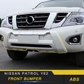 For Nissan Patrol Y62 Car Front Bumper Lip Splitter Diffuser Spoiler Fender Protector Exterior Replacement Parts