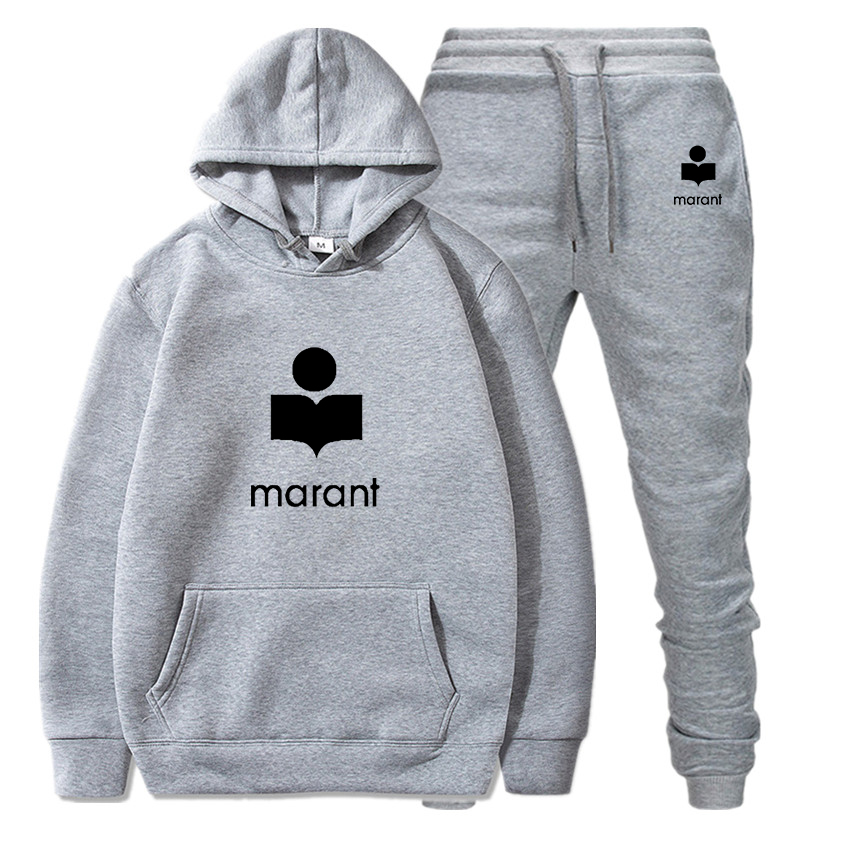Marant Set Hoodie 2020 Newest Clothes Men Suit Women Hooded Fashion Hip Hop Brand Clothing Fall Winter Hoodies Tops Coat Off Whi