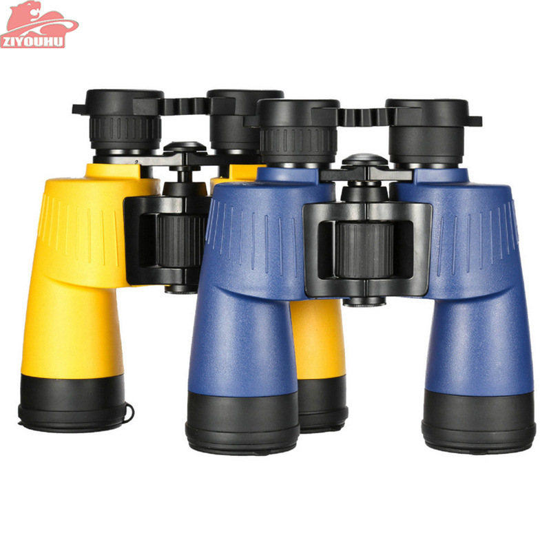 Мода 7x50 Hd бинокль с широким углом водонепроницаемый телескоп высокое качество наблюдение за птицами оптика для охоты на открытом воздухе Б