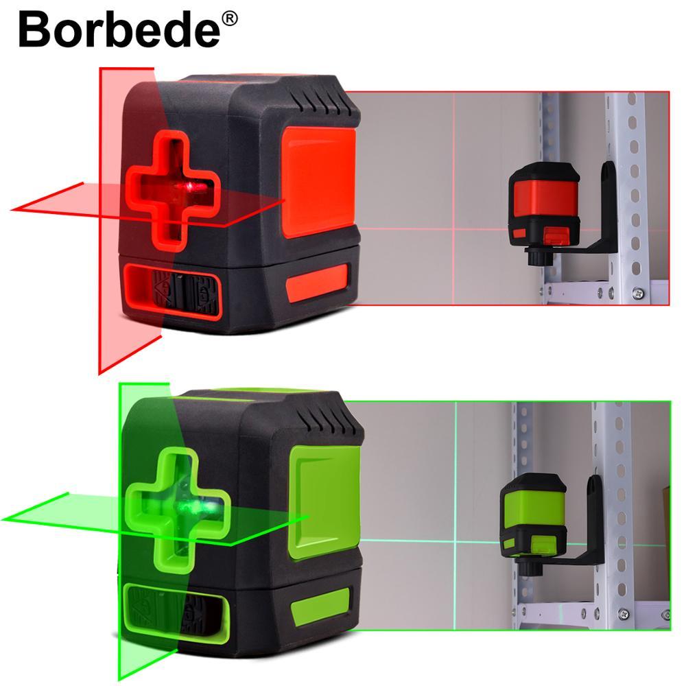 Лазерный уровень Boebede с 2 красными/зелеными перекрестными линиями самонивелирующийся регулируемый портативный мини|Лазерные уровни|   | АлиЭкспресс