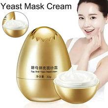 Egg Shell Yeast Mask Cream Peel-Off Facial Creams Nourish Hy
