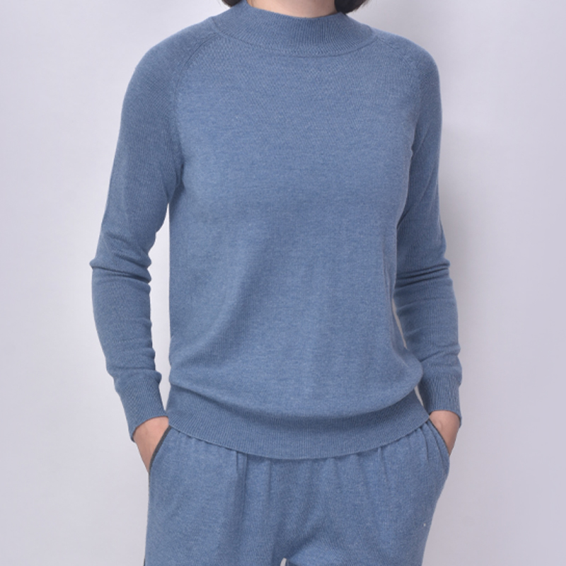 Jogger Loungewear with Contrast-Color Drawsring And Comfortble Handfeeling Ladies New-Arrival