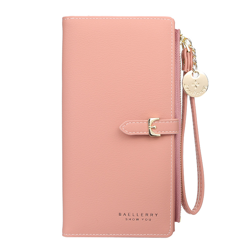 Baellerry Long Wallet Women Purses Fashion Coin Purse Card Holder Wallets Female High Quality Clutch Money Bag PU Leather Wallet
